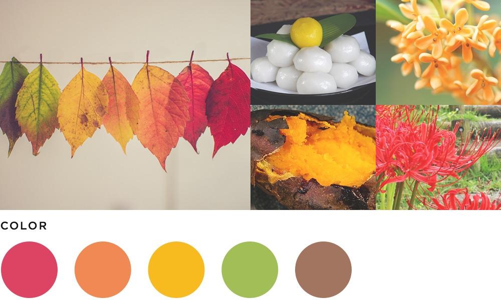 9月のイメージとカラーの画像
