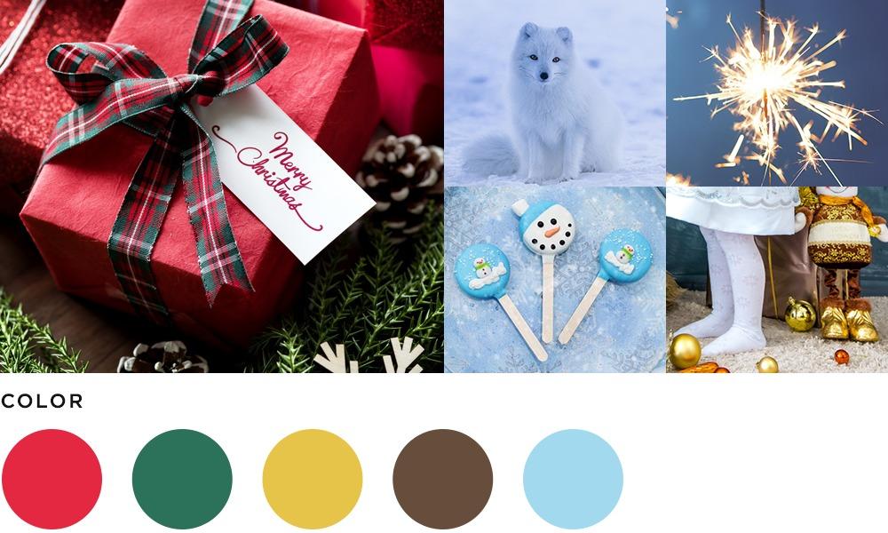 12月のイメージとカラーの画像